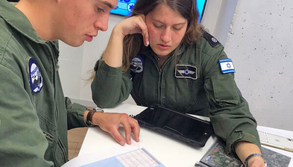 עבודת צוות בטייסת
